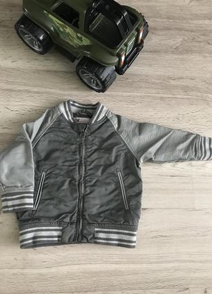Модний бомбер/ куртка h&m 1,5-2роки, 92 см
