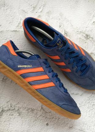Оригинальные кроссовки adidas originals hamburg1
