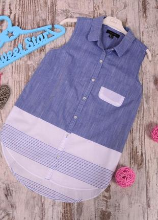 Комбинированная блуза atm