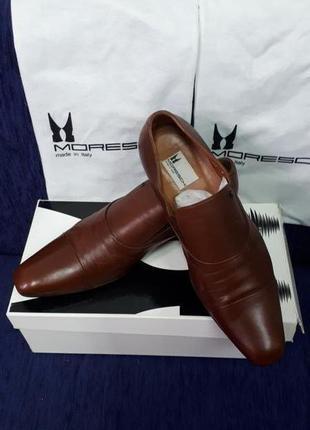 Мужские туфли moreschi италия