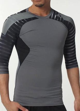 Adidas techfit climacool спортивная кофта, l