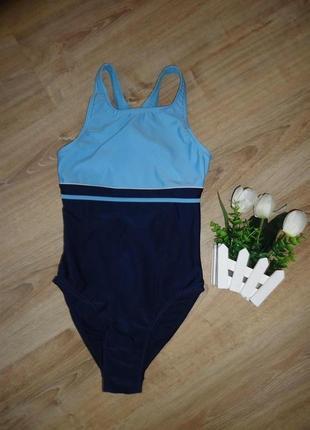 Классный спортивный купальник сдельный. размер xs-s.blue motion