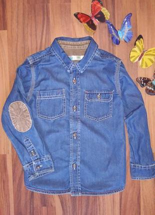 Стильная джинсовая рубашка m & co