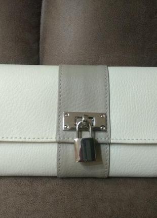 Новый кожаный кошелек органайзер dulwich