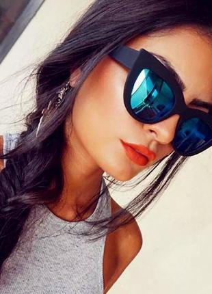 Очки.солнцезащитные очки.очки лисички.cateyes.очки кошачий глаз