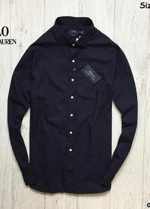 Мужская рубашка ralph luanren polo - оригинал, slim fit, new!!