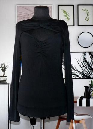 Блуза трикотажная с вырезом на спинке next