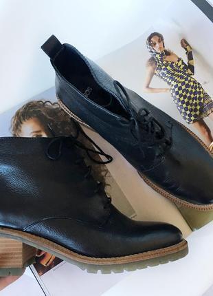 Новые кожаные ботинки asos на весну