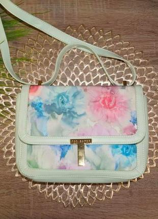 Стильная красивая сумка на плечо ted baker