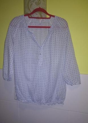 Летняя рубашка из хлопка от esprit