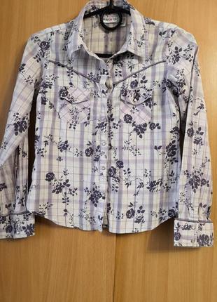 Лёгкая рубашка limited toо на 10 лет