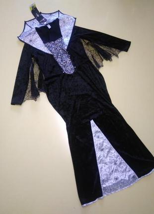 Платье в пол  летучая мышь george р. 44-46