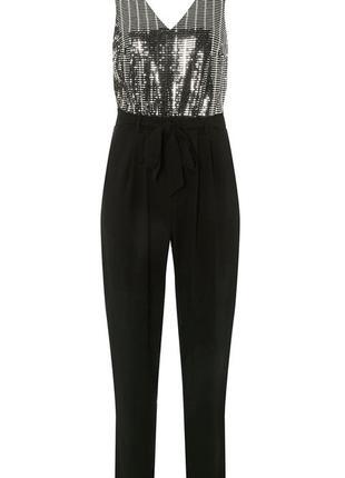 Комбинезон брюки со блестками