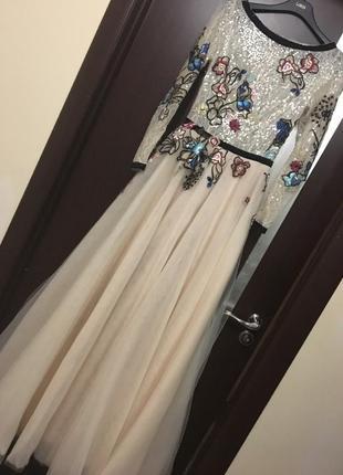 Внчернее платье вечірня сукня