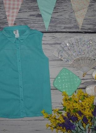11 - 12 лет 152 см фирменная майка блузка блуза рубашка для модниц с открытой спиной