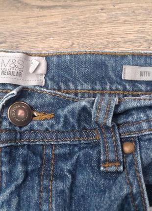 Бойфренды мом . качественные джинсы высокая посадка m&s. оригинал