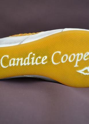 Дизайнерские сникерсы candice cooper 37–37,5р. оригинал5 фото