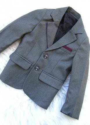 Стильный пиджак  с декоративным платком rebel