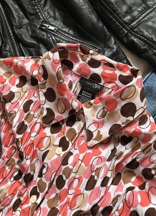 Фирменная рубашка жатая узор 💮🍉
