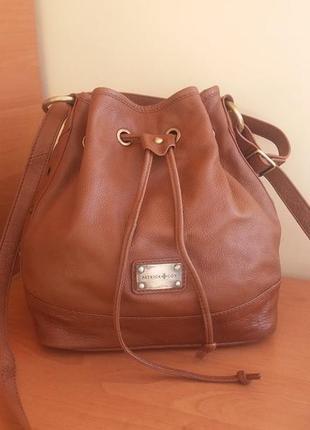 Люкс бренд !!! patrick & cox london мега крута дизайнерська сумка-мішок !!!