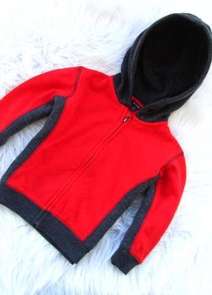 Стильная кофта реглан свитер   с капюшоном kiabi