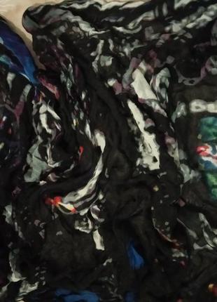 Pieces большой платок шарф2 фото