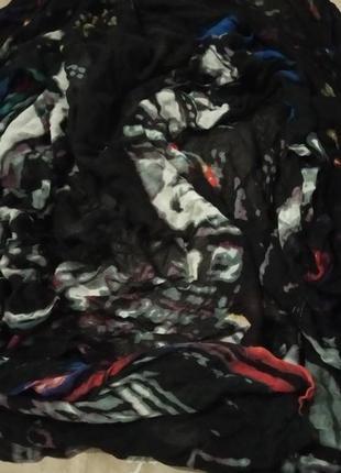 Pieces большой платок шарф1 фото