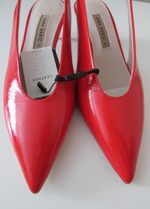 Туфли из натуральной кожи zara10