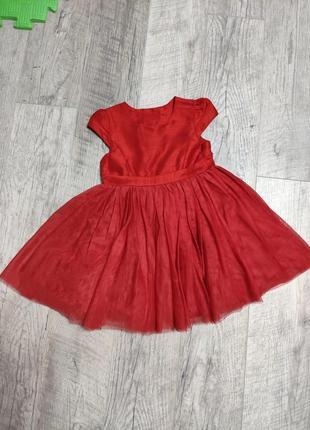 Красное платье сукня нарядное
