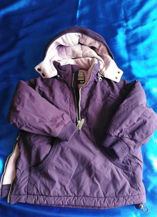 Зимняя куртка кенгуру  mads & mette  4/5 лет , 110 см.