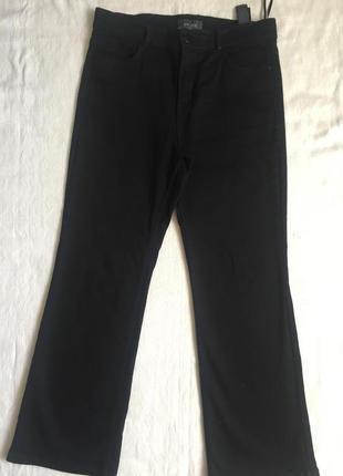 Супер джинсы стреч  жен прямые m&s раз l(48)