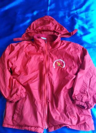 Куртка  непромокаемая на флисе cavin dacunha 10-12 лет.