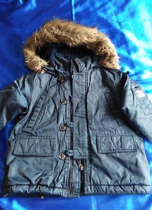 Теплая куртка  far out на мальчика 4-5 лет