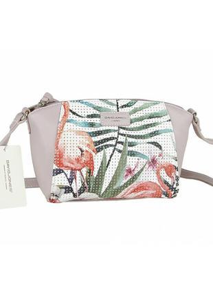 Женская сумка из экокожи david jones 5923-1a1 фото