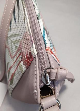Женская сумка из экокожи david jones 5923-1a2 фото
