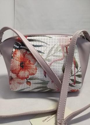 Женская сумка из экокожи david jones 5923-1a3 фото