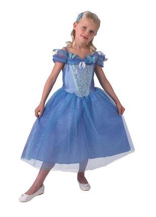 Карнавальное платье золушка синдерелла дисней 5-6 лет принцесса