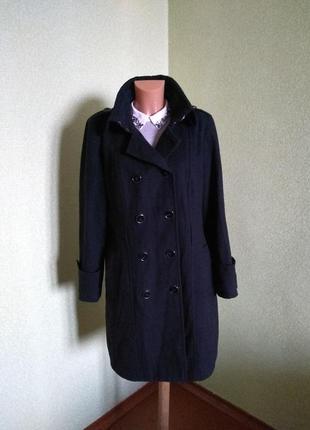 Демисезоное пальто star dy julien mac donald/16 размер/55%  шерсть