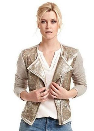 Оригинальный пиджак с пайетками от тсм чибо, наш, 44,46