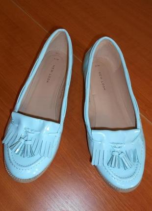 Туфельки яркие и стильные 24.5 см