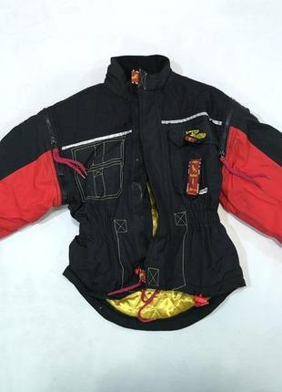 Куртка мотокуртка polo, с защитой, детская, оч хор сост!