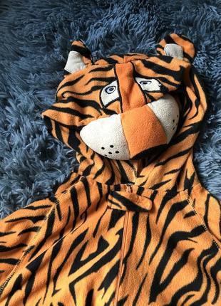 Кигуруми. пижама. домашний костюм. тигр