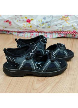 Кожаные детские сандалии босоножки ecco оригинал