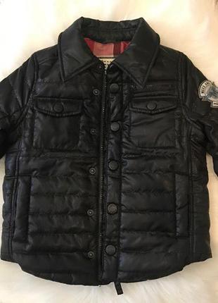 Супер крутая куртка мехх на мальчика