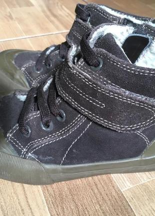 Хайтопы ботинки кеды gap р-р.28(10)