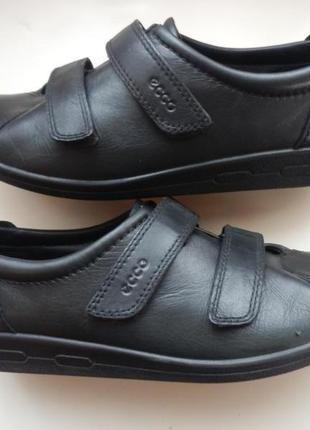 Кожаные туфли кроссовки ecco 39р