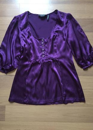 Шелковая блуза guess