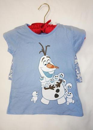 Хлопковая пижама с принтом из мультика disney3 фото