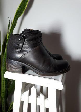 Кожаные ботинки airstep a.s.98