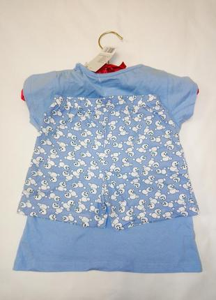 Хлопковая пижама с принтом из мультика disney4 фото